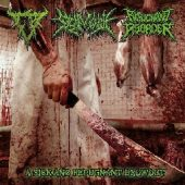 3 WAY SPLIT CD-CRANIAL BLOWOUT / SICK MORGUE /REPUGNANT DISORDER