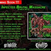 3 WAY SPLIT-SPERMA REJECT/EXPANSSION NEURONAL/CUNT CARNAGE CD