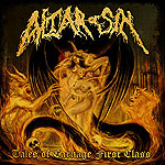 ALTAR OF SIN Tales of Carnage First Class CD