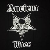 ANCIENT RITES Logo T-shirt