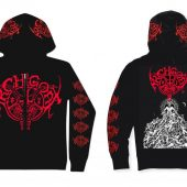 ARCHGOAT The Luciferian Crown Zip-Hoodie