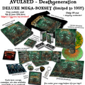 AVULSED Deathgeneration BOX