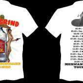 ANAL GRIND Mexican bondage tour T-shirt White